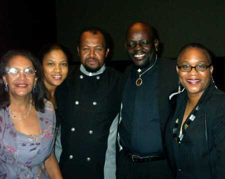 Ann Jamerson, Penny Jamerson, Joey Jamerson, Anthony McKnight, and Dr. Karen Chandler
